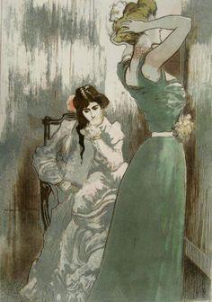 Pierre-Georges Jeanniot (1848-1934) - La Toilette, 1910