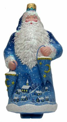2013 Milaeger's Christmas Exclusive - Into the Night Anniversary Claus by Patricia Breen.