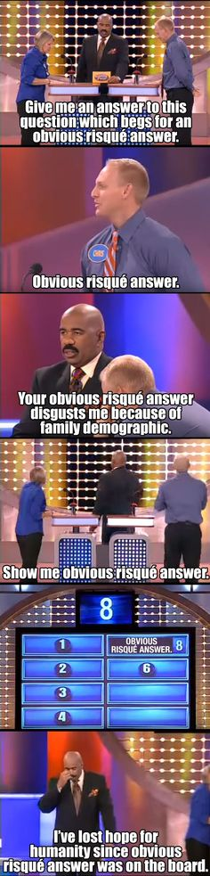 Funny Meme - [Family Feud. Lather, rinse, repeat.]