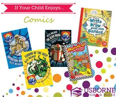 Best of Usborne Comic Books