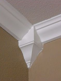You can install crown molding without an expert --- buy the corner 'cheat' pieces.