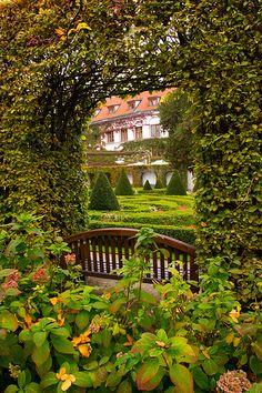 The Vrtbovska Garden, Prague.