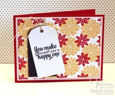 Card by Chaitali Narla using Be Blessed set by Verve Stamps.