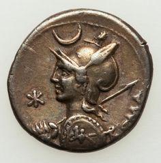 P. Nerva (113-112 BC). AR denarius (3.93 gm). Rome.