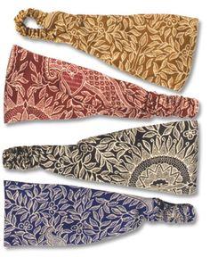 Indian Print Headbands   #liviniseasy @Soul Flower