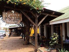 The Source Cafe in Jinja, Uganda. Best. Coffee. Ever.