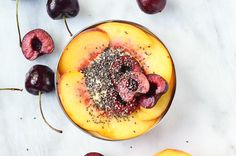 There's something to be said for creating beautiful meals. Even if it's just a midday snack or lunch like this gorgeous fruit and turmeric yogurt bowl. I know for me, I always feel more satisfied with my meal when I take a few moments to put it together in a way that feeds my eyes before it feeds my belly. This pretty little number is not only delicious, it's also really good for you. I've personally been trying to eat foods that will combat a couple minor health issues that I've been…