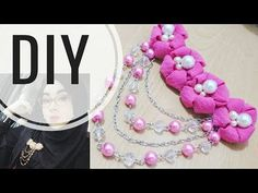 DIY    Tutorial Bros Bahu Deret 02   Kekinian   Bunga menul - menul   Easy Tutorial Fabric Flower - YouTube