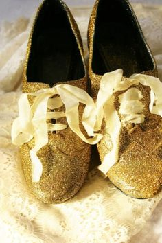 Glitter Oxfords