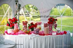 Awesome Candy Table! Dianna Hart Photography. www.DiannaHart.com