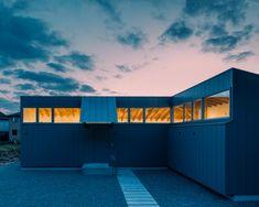 Japanese Modern House, Boundary Walls, Kumamoto, Open Wall, Stables, Minimalism, Villa, Landscape, Architecture
