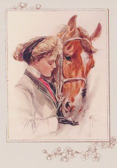 # 16 Harrison Fisher #equine #art #horse