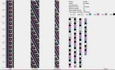 12 around tubular bead crochet rope pattern Bead Crochet Patterns, Bead Crochet Rope, Peyote Patterns, Beading Patterns, Beaded Crochet, Crochet Beaded Bracelets, Beaded Jewelry, Native American Beading, Brick Stitch