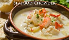 Seafood Chowder - HowToInstructions.Us