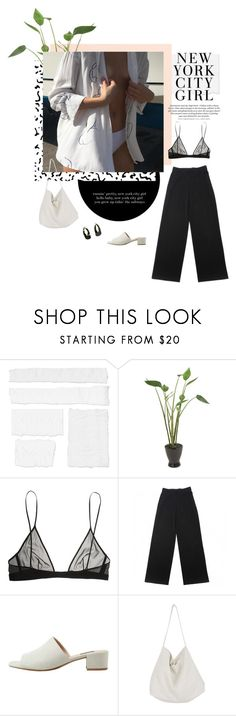 """""""new york city girl"""" by ffeathered ❤ liked on Polyvore featuring Distinctive Designs, Yves Saint Laurent, H&M, MANGO and Cabbages & Roses"""