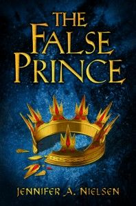 The False Prince by Jennifer A. Nielsen. Gr 5–8  Sage is taken from his orphanage by Lord Conner, a nobleman who wants to train him and two other boys to pretend to be their country's missing prince.  The boy who succeeds will rule—under the guidance of Lord Conner. But Sage has his own secrets and his own talents .—Beth L. Meister, Milwaukee Jewish Day School, WI #sljbookhook