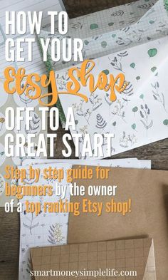 Start an Etsy Shop | Sell Online | Make Money Online | Tips for Etsy Sellers | Get your Etsy store off to a great with this step by step guide from the owner of a top of category Esty store. No more excuses! Get that side hustle or home based business started today. Everything you need to know to get your Etsy off to an amazing start.  If you would like customized clothing made feel free to check out our shop!  www.etsy.com/shop/ElectricTurtles