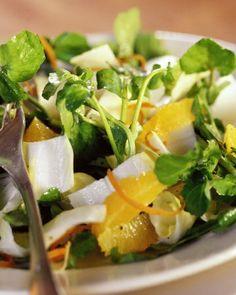 Endive, Arugula, and Tangerine Salad