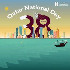 Qatar National Day, Digital, Movie Posters, Art, Art Background, Film Poster, Popcorn Posters, Kunst, Gcse Art