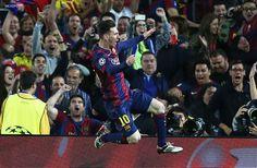 Lo pensé un segundo, salió así: Lionel Messi