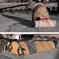 Mira cómo esta mochila se transforma en una casa para los indigentes - El Definido