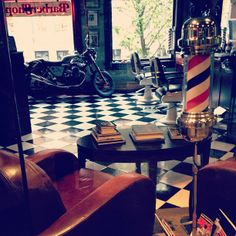 .@anna smith | The barber shop, all clean and ready for Saturday......one day left of what h... | Webstagram
