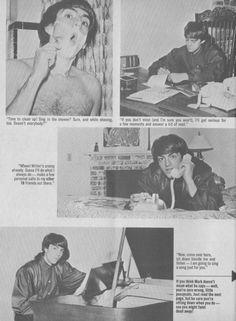 Mark Lindsay - 16 Magazine - December, 1966