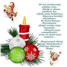 Kartka świąteczna 💙🌲💟🌼⛄🎅 Christmas Deco, Christmas Bulbs, Christmas Pictures, Emoticon, Winter Time, Diy And Crafts, Christmas Cards, Holiday Decor, Diy Things