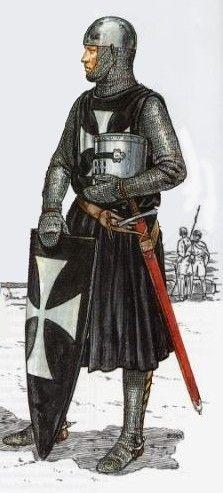 Knights Hospitaller, end of 12th - beginning of 13th century
