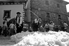 Foto antigua de colchoneros MADRID