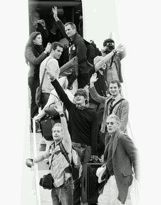 LOTR cast saying good bye :(