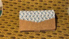 Compagnon Complice en liège et tissu à éventails cousu par Ophélie - Patron Sacôtin