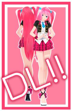 [MMD] TDA Pop Idol Gibpuri DL!! by AkamariAgo