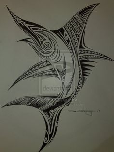 Tribal sailfish