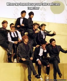 One In a Million Moment... Big bang and The OLD TVXQ !