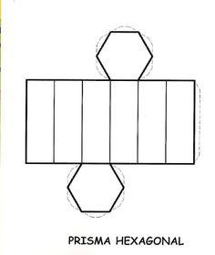 AMIGA DA EDUCAÇÃO.: SÓLIDOS GEOMÉTRICOS. Printable Shapes, Printable Box, Prisma Hexagonal, Homemade Birthday Presents, 3d Shapes Activities, 3d Geometric Shapes, Math Tools, Spring Crafts For Kids, Math Art