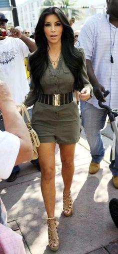 Kim Kardashian Fashion and Style - Kim Kardashian Dress, Clothes, Hairstyle - Page 118