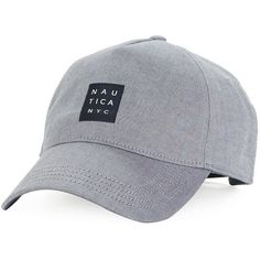 Nautica NYC Stretch Cotton Baseball Cap (105 BRL) ❤ liked on Polyvore featuring men's fashion, men's accessories, men's hats and true navy