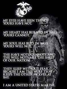 Yes, I am a United States Marine