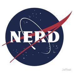 NASA Nerd Logo Parody