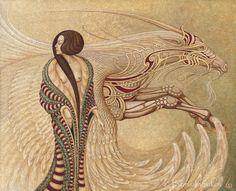 Boris Indrikov: Art Deco Surrealism • Lazer Horse