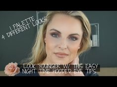 This is the fourth video on my LOOK YOUNGER series. I am going to be using one palette in 4 different ways. Giving you tips and tricks on how to change your . Milani Rose Powder Blush, Elizabeth Arden Lipstick, Eye Tricks, Fibre Gel, Arch Brows, Deep Set Eyes, Bite Beauty, Large Eyes, Volume Mascara
