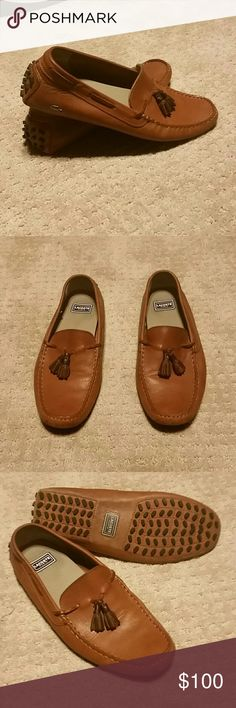 fd5667c257 Men's Concours Tassel 3 Moccasins by Lacoste Like New! Classic nautical  styling and rich earthy