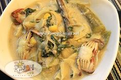 Ginataang Labong Recipe or Bamboo Shoots in Coconut Milk http://www.pinoyrecipe.net/ginataang-labong-recipe-or-bamboo-shoots-in-coconut-milk/ #FilipinoRecipesPortal #PinoyRecipe