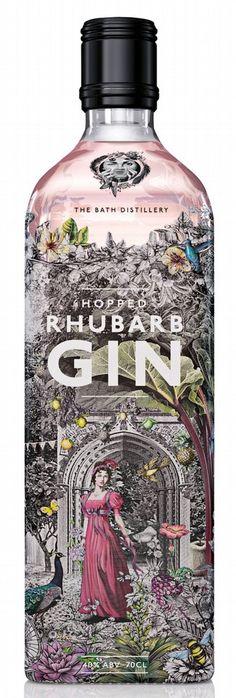 Bath Gin Hopped Rhubarb Edition : Nectar Imports Ltd