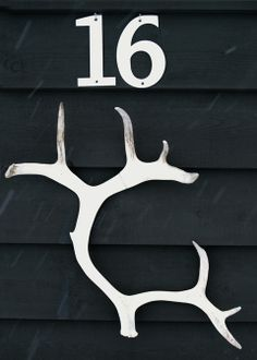 house number from a swedish cabin