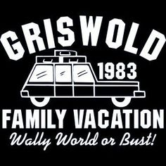 New Custom Screen Printed T-shirt Griswold Family Vacation Small