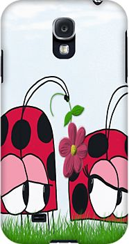 Ladybug Wooing His New Love ~ Samsung Galaxy S4/S3 Case