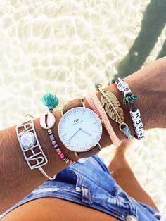 Pura Vida bracelets and Daniel Wellington watch Jewelry Accessories, Fashion Accessories, Fashion Jewelry, Gold Jewelry, Jewelry Rings, Jewelry Ideas, Diamond Jewelry, Arrow Jewelry, Jewelry Logo