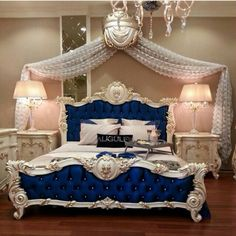 Bedroom Design Ideas – Create Your Own Private Sanctuary Luxury Bedroom Furniture, Royal Furniture, Luxury Bedroom Design, Master Bedroom Design, Bed Furniture, Sunroom Furniture, Mirrored Furniture, Furniture Outlet, Furniture Design